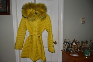 beauitful coat with real foxfur St. John's Newfoundland image 1