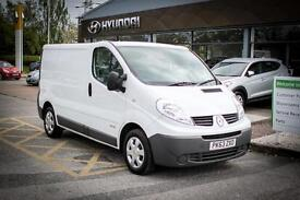 2014 63 RENAULT TRAFIC SL27dCi 115 eco2 Van in Apollo W