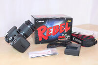 Canon Rebel t5i 18mp Bundle Kit