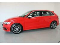 2014 Audi S3 2.0 SPORTBACK QUATTRO 5d 296 BHP-2 OWNER CAR-HEATED LUNAR SILVER LE