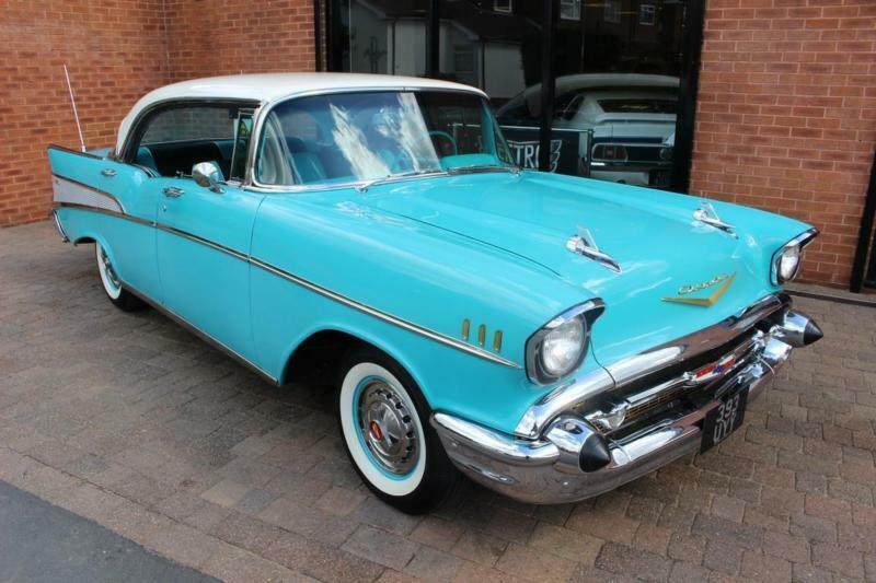 1957 Chevrolet Bel Air 2400 283 V8 With Powerglide Auto