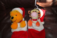 Winnie The Pooh and Tigger Christmas Stockings $5.00each