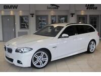 2014 63 BMW 5 SERIES 3.0 530D M SPORT TOURING 5D AUTO 255 BHP DIESEL