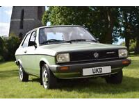 VW VOLKSWAGEN POLO MK1 DERBY GLS 1.3 SALOON 2DR GREEN 1981 ONLY 17K MILES!