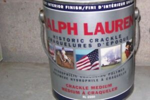 Crackle Paint for wood products, furniture, crafts & walls