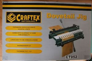 Craftex Dovetail Jig CT052 - new condition Oakville / Halton Region Toronto (GTA) image 2
