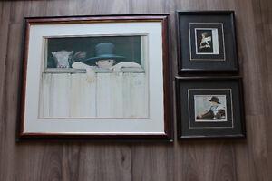 Nancy Noel set of three (3) Amish prints Belleville Belleville Area image 3