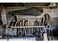 Wanted: Old Tools & Workshop Items (Derbyshire or near )