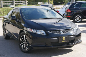 2013 Honda Civic EX Coupe - AUTO, BACKUP CAM, SUNROOF CERTIFIED