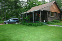WASHAGO - OPEN HOUSE THIS WEEKEND - LOG CABIN