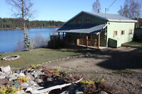 BEAUTIFUL LAKEFRONT PROPERTY 30 MINUTES WEST OF PRINCE GEORGE