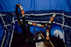 Handcrafted Beaded Horse Halter