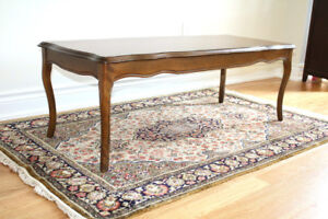 Mid-century Style solid wood coffee table