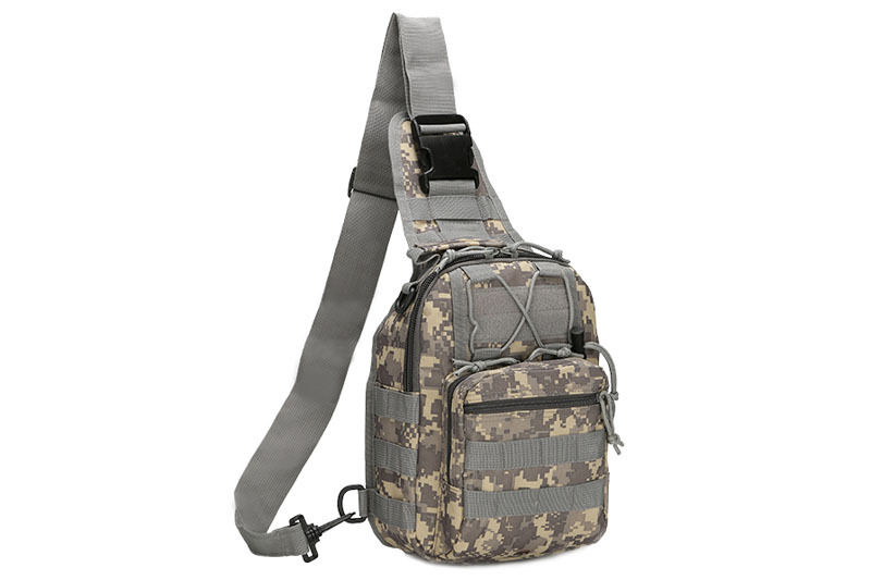 Outdoor Shoulder Military Tactical Backpack Travel Camping  Hiking Trekking Bag ACU