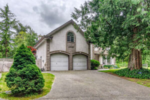 FABULOUS 2-STOREY HOUSE WITH ACREAGE IN LANGLEY
