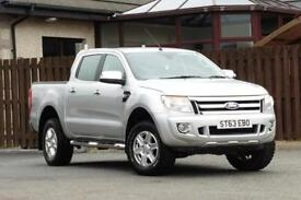 2013 FORD RANGER 2.2 TDCI LIMITED 4X4 DOUBLE CAB PICK UP 4DR DIESEL