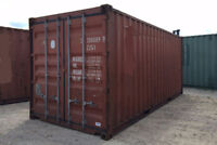 WILL REMOVE/PICK UP SHIPPING CONTAINER FOR FREE