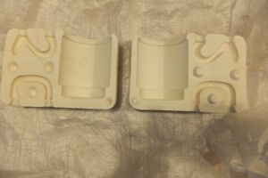 Casting Molds for Clay - $ 40. for all 5