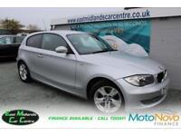 2007 57 BMW 1 SERIES 2.0 118I SE 3D 141 BHP DIESEL SILVER