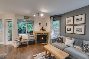 Tastefully Updated Townhouse with Private Backyard