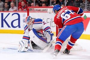 4 billet canadiens vs NY Rangers, 14 Jan, section 108, rouge
