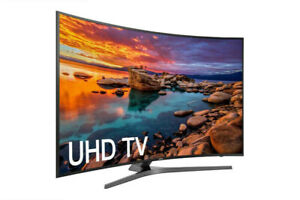 Samsung UN55MU7600 Curved 55-inch 4k Smart LED TV