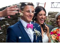 Contact Brecon Photography for colourful natural images of you and your guests on your special day;