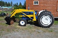 ford 4000 with loader