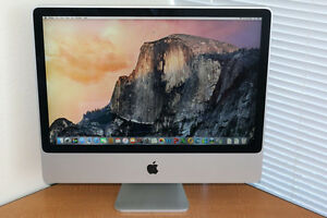 "Apple iMac 24"" Core 2 Duo 3.00 GHz 4GB  Nvidia GeForce"
