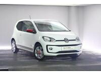 2017 Volkswagen UP Petrol white Manual