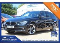 2017 67 BMW 3 SERIES 2.0 320D XDRIVE SPORT TOURING 5D 188 BHP DIESEL
