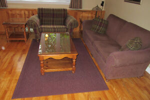 Couch & Chair Set with Tables