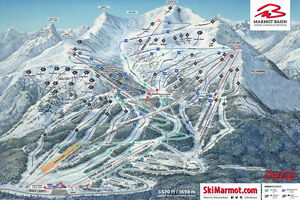 Jasper Ski Lift Passes and Hotel Stay