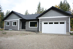 New Home on 2 Acres outside of Enderby