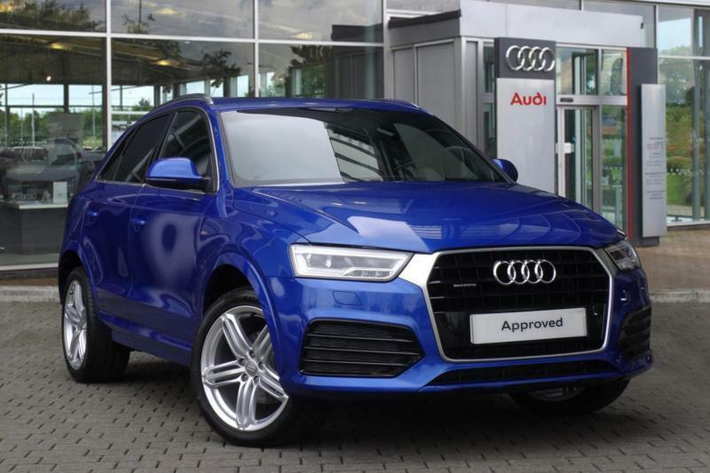 2016 audi q3 2 0 tdi quattro s line plus 5dr s tronic automatic estate in sheffield south. Black Bedroom Furniture Sets. Home Design Ideas