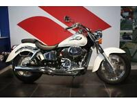 HONDA VT400 SHADOW NC34 400, 2002, WHITE, RARE JAPANESE CRUISER, IMMACULATE