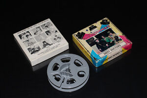 THE THREE STOOGES-COLLECTION-8MM-FILM/MOVIE (DAMAGED)
