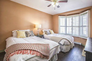 Fully Furnished Luxury Rental Downtown for Executives & Families