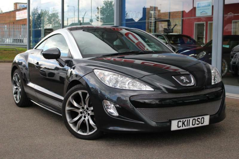 2011 Peugeot Rcz 16 Thp Gt Leather 19andquot Alloys Cruise And