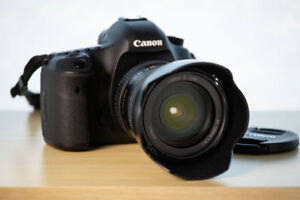 Canon 5D Mark III with 24-105 zoom lens