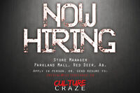Manager Required