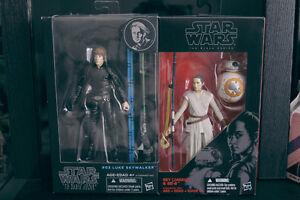 "Star Wars Black Series figurines 6"""