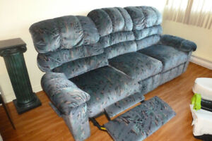 Sofa inclinable Elran 3 places