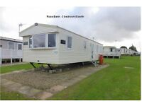 Primrose valley 3 bedroom 8 berth