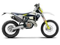 HUSQVARNA TE 150i 2021 MODEL ENDURO BIKE NOW AVAILABLE TO ORDER AT CRAIGS MC