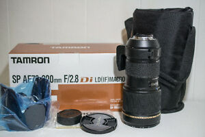 near mint* Tamron SP A001 70-200mm f/2.8 LD AF IF Di Lens For Ni