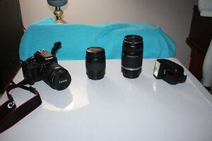 Canon SL1 and Lenses