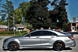 2015 MERCEDES CLS63-S AMG-$45,000 IN UPGARDES-754HP-MATTE GRAY!