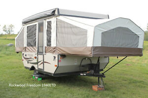 Rent a Tent Trailer or Travel Trailer