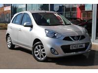 2015 NISSAN MICRA 1.2 Acenta CVT Auto NAV, B TOOTH, ALLOYS and CRUISE